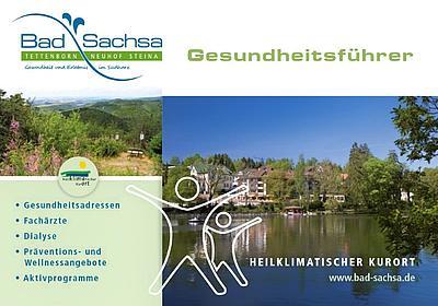 Titelbild der Gesundheitsbroschüre Bad Sachsa
