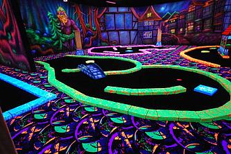 GlowGolf in Wildemann im Harz